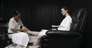 women foot care